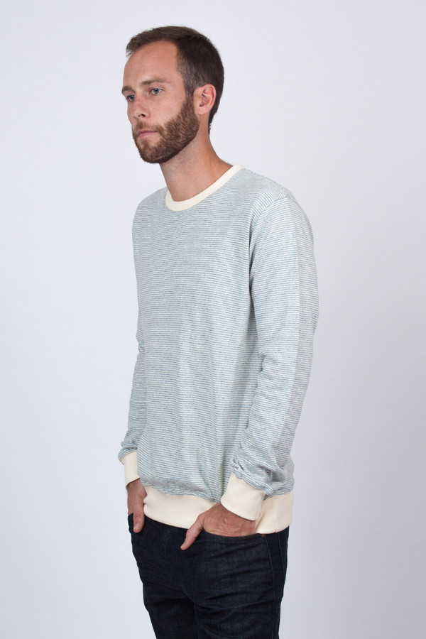 Stripe Crew Sweat