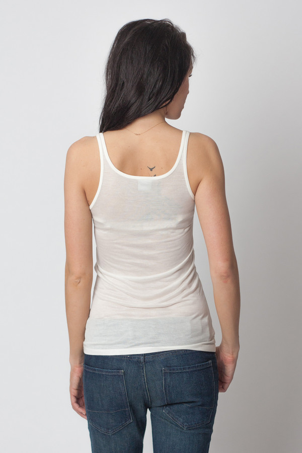 Baserange Tank Top Off White