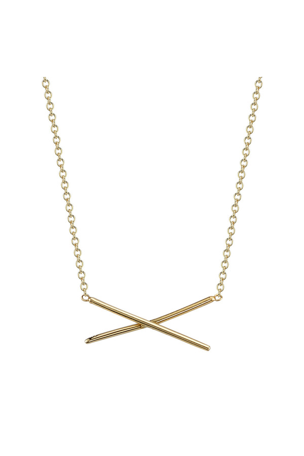 Gabriela Artigas X Necklace 14k Yellow Gold