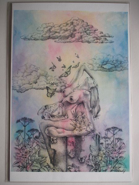 Art of Chelsea Aquarius Print
