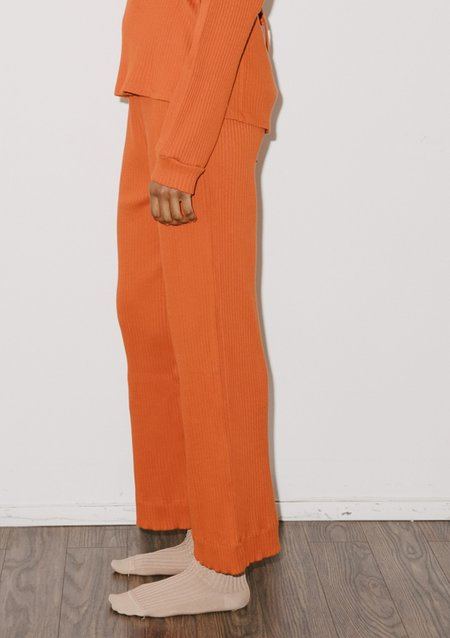 Baserange GITA PANTS - Opia Orange