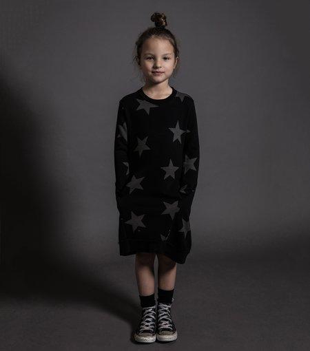 Kids Nununu Star A Dress - Powder Pink