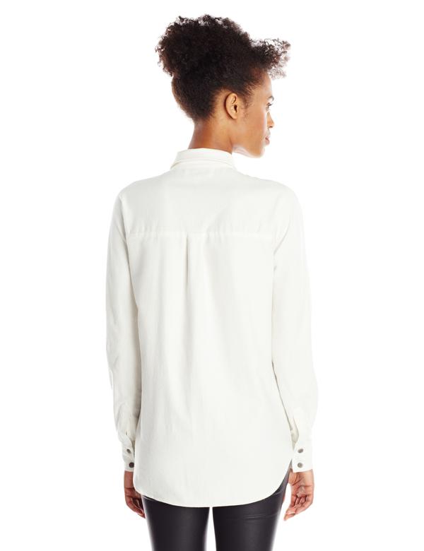 Vincetta Flannel Collared Shirt