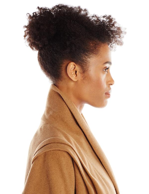 Vincetta Camel Shawl Collar Coat