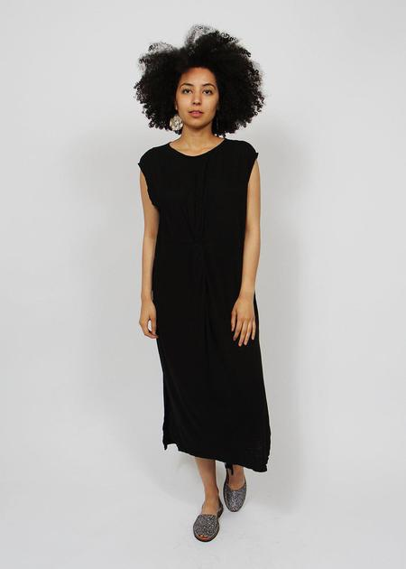 Errant Evla Knotted Dress - Black