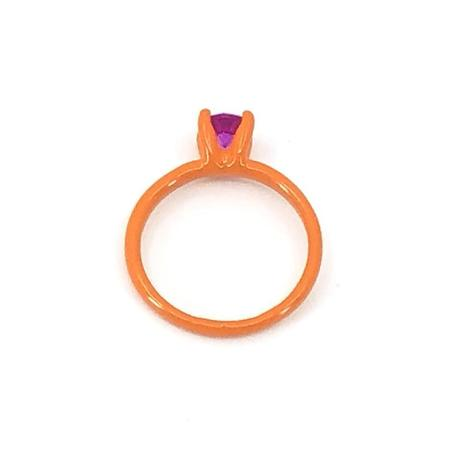 Funhouse Labs Ring - Orange/Dark Pink