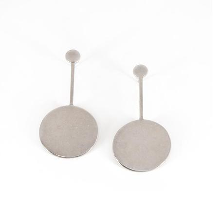 Material Wit Compass Earring - Sterling Silver