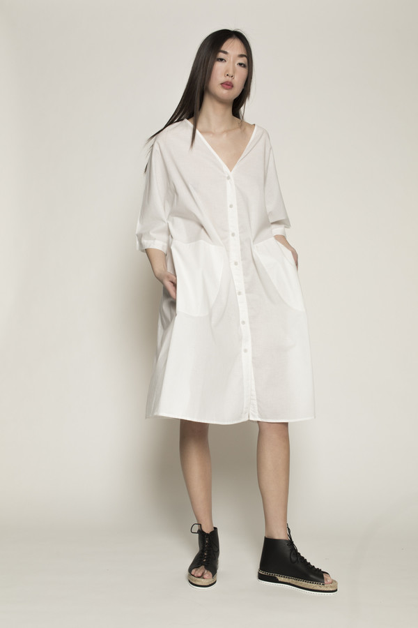 Kowtow Domus Shirt in White