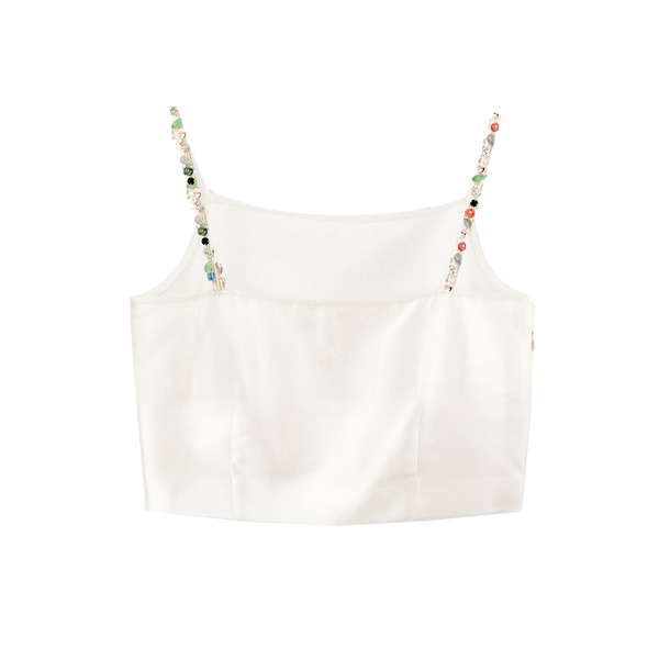 Unknown Crystal Strap Cami