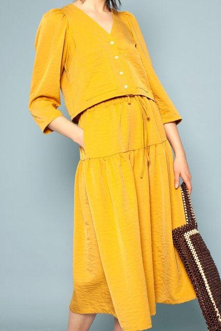 L.F.Markey Scott Skirt - Saffron