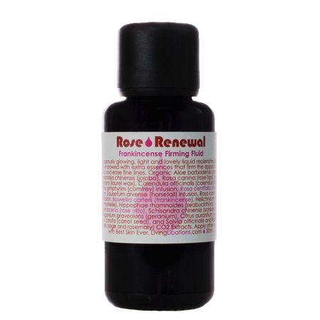 Living Libations Rose Renewal + Frankincense Firming Fluid