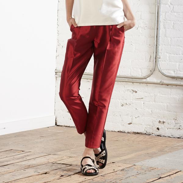 Nikki Chasin Otis Classic Trouser - Candy Red