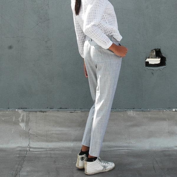 Nikki Chasin Classic Stretch Wool Trouser