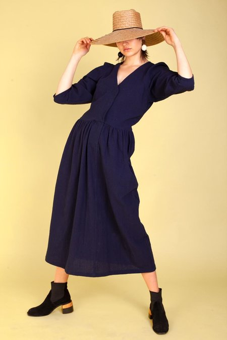 L.F. Markey Melvin Dress - Navy