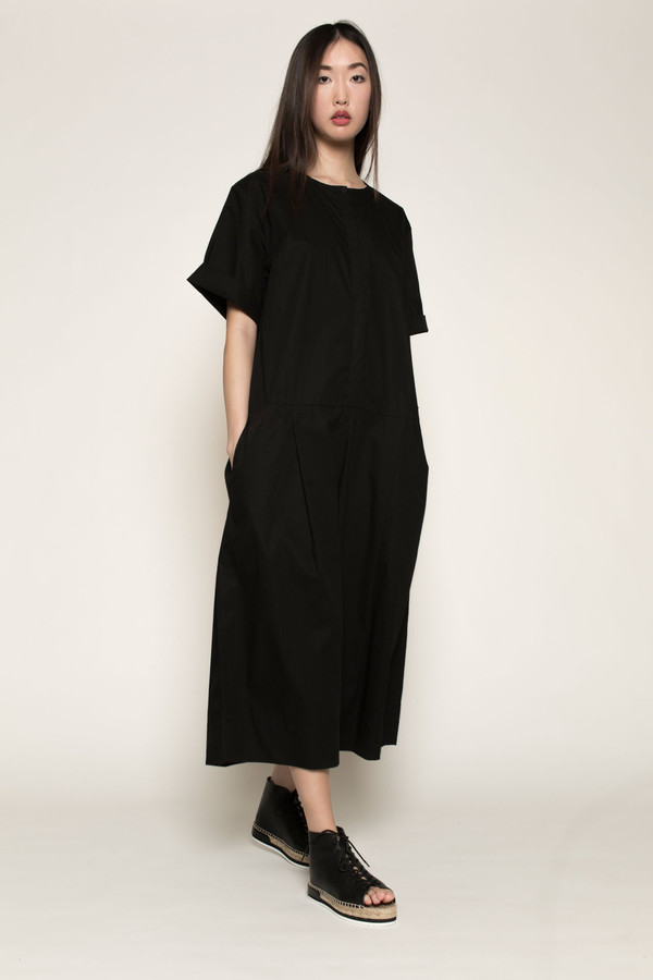 Kowtow Pen to Paper Jumpsuit in Black