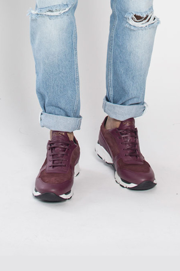 Mercer Amsterdam Runner in Burgundy