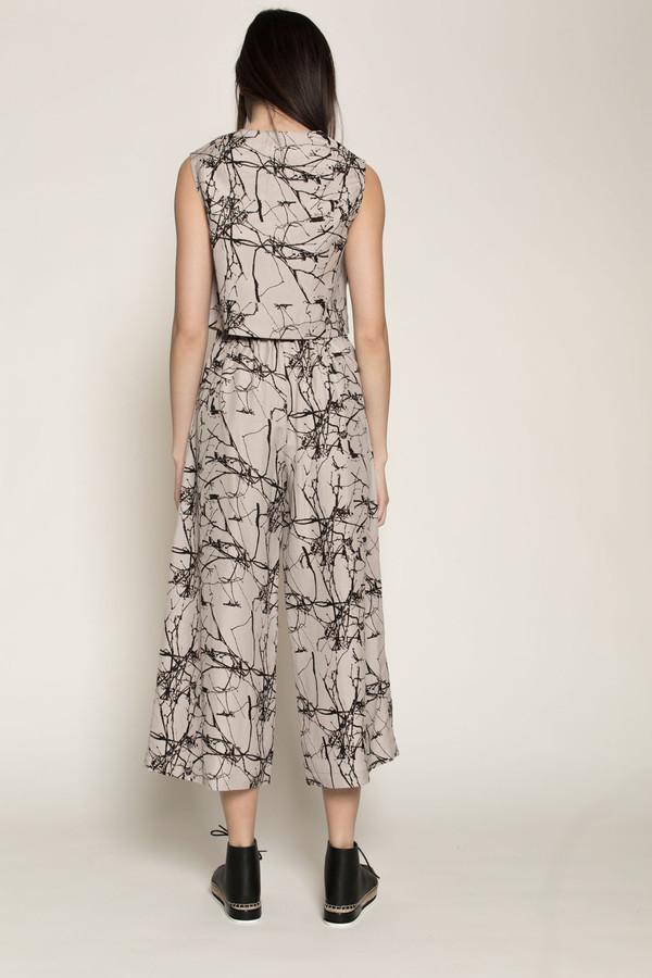 H. Fredriksson Sam Top in Twigs Linen/Silk
