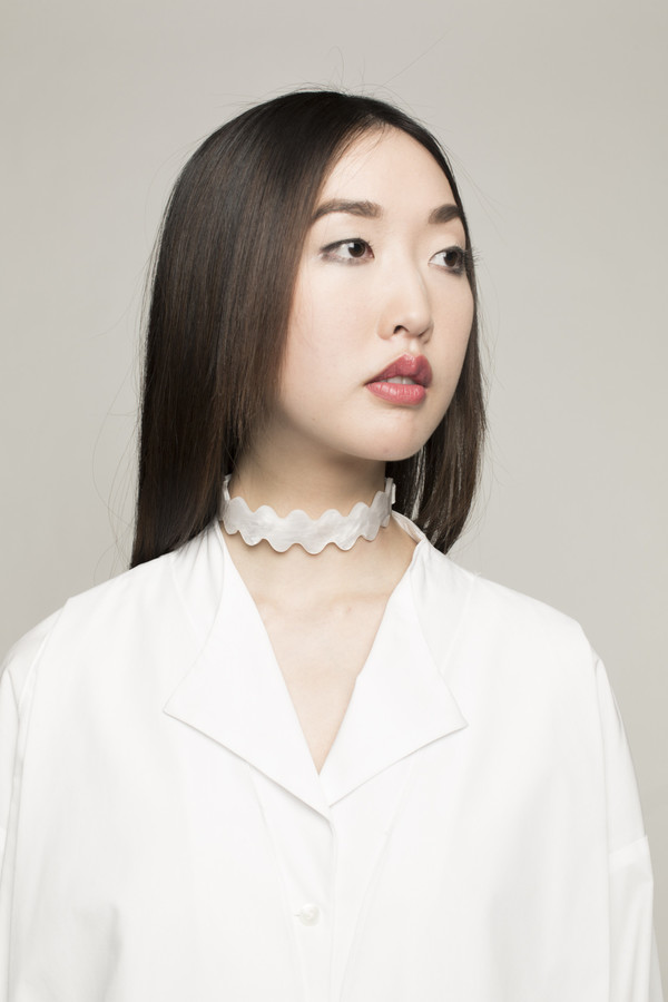 I STILL LOVE YOU NYC Squiggle Choker in Opal