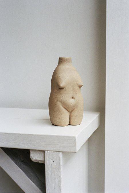 Rachel Saunders Ceramics Woman Vase - Sand