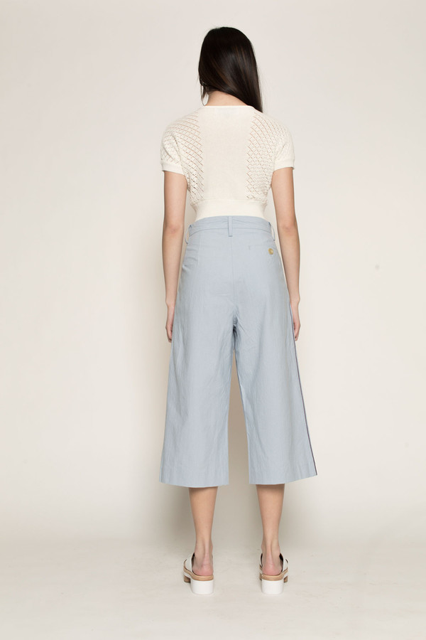 Kurt Lyle Sue Ellen Culottes in Blue