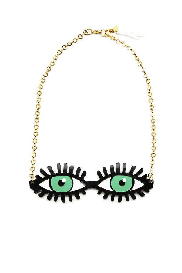 I STILL LOVE YOU NYC Tatnna Eye Necklace