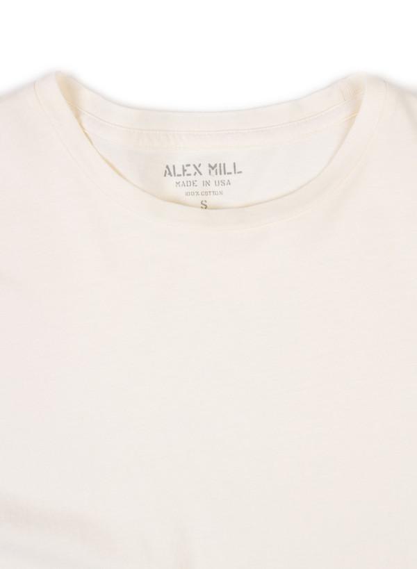 Men's  Alex Mill Simple Tee Cream