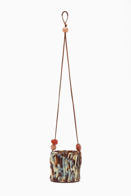Ulla Johnson Yadira Mini Pouch Bag - Horn