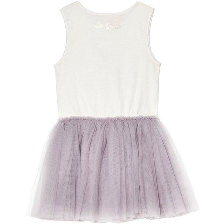 Kids Tutu Du Monde Carousel Tutu Dress - Heather Lavender