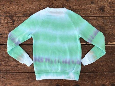 The Masshole Project Masshole Tie-Dye Sweatshirt - Sea Green