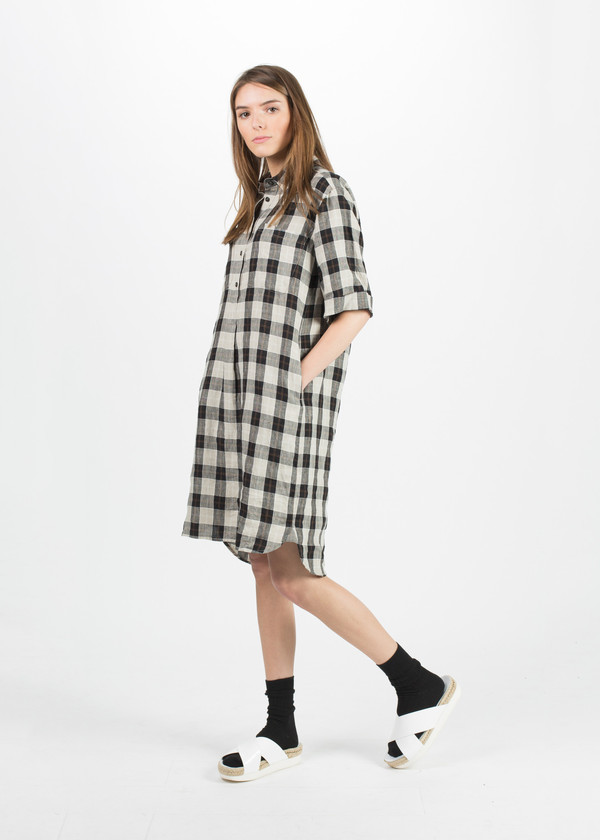 Margaret Howell Linen Shirt Dress