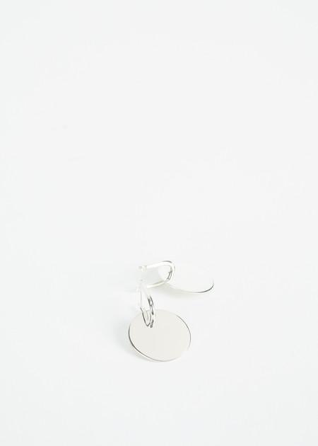Erin Considine Mini Disk Hoop Earring