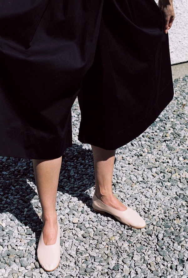 Kowtow Things In Common Culotte - black