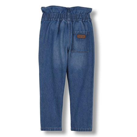 kids finger in the nose lizzy jeans - blue