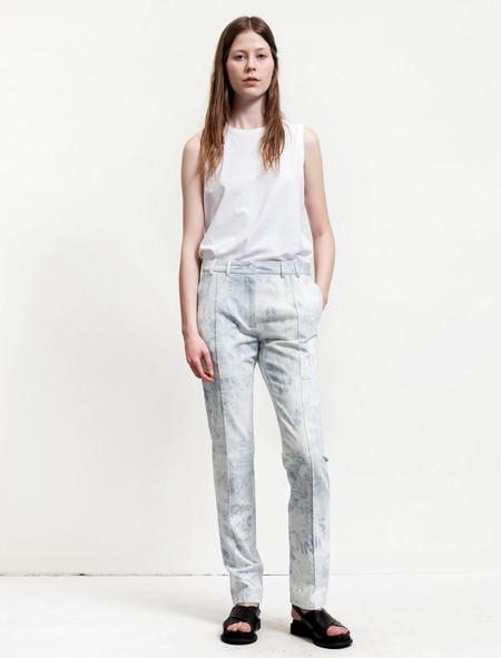 Thakoon Womens Shibori Dyed Jeans