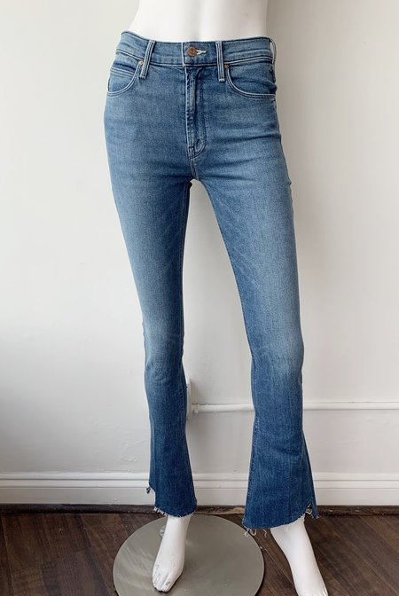 Mother Denim Step Fray Jeans - Runaway Train