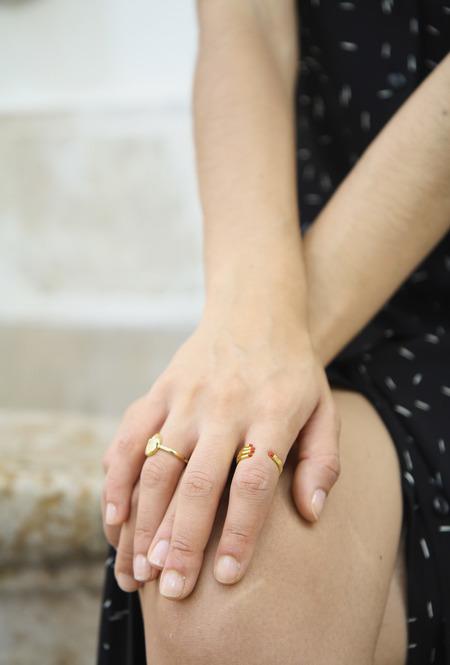 Eyland Masson ring - gold