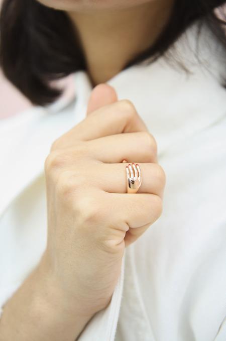 Eyland Esteban ring - rose gold
