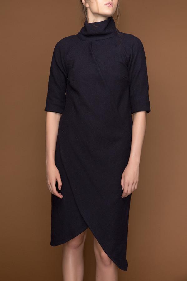Ajaie Alaie Double Drape Dress
