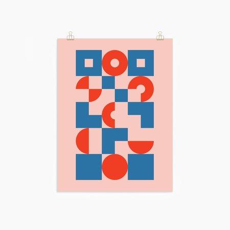 Poketo Circles and Squares Print