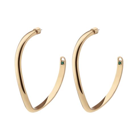 Demarson Calypso Earrings - Gold