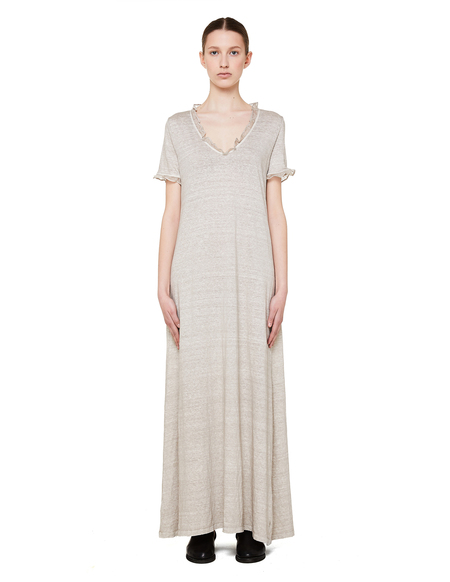 120% Lino Linen Dress - Beige