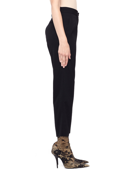 Y's Cropped Wool Trousers