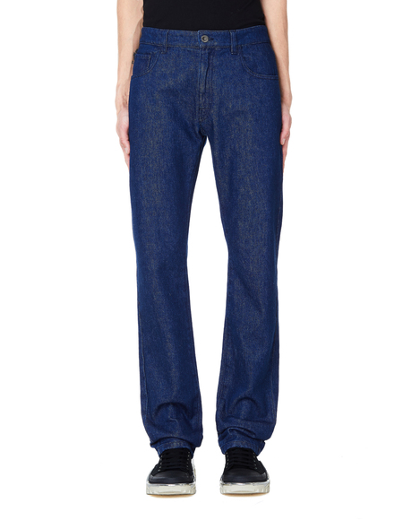 Raf Simons Cotton Jeans - Blue