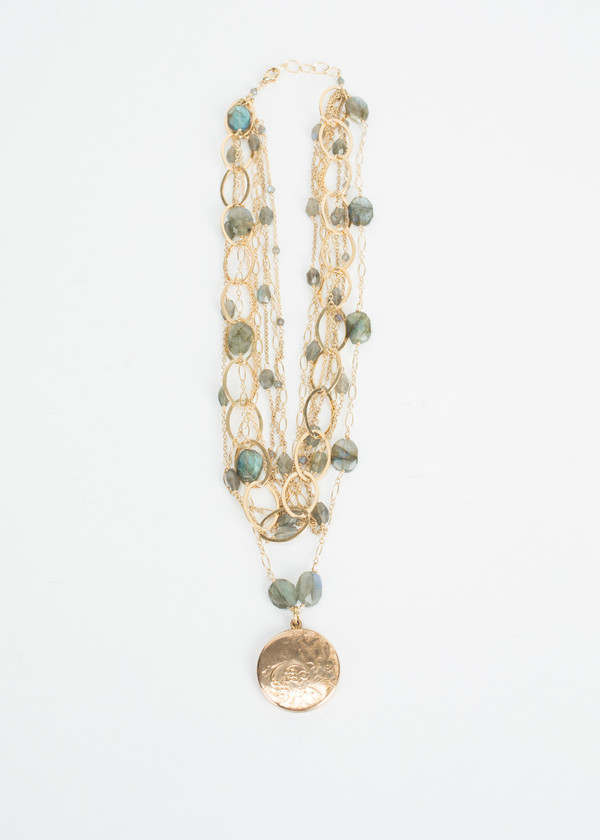 Jewels by Piper Multi Chain Locket Necklace