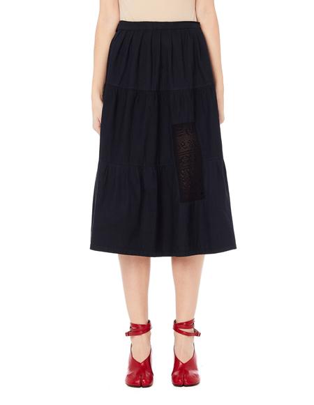 Blackyoto Hikari Black Laced Skirt