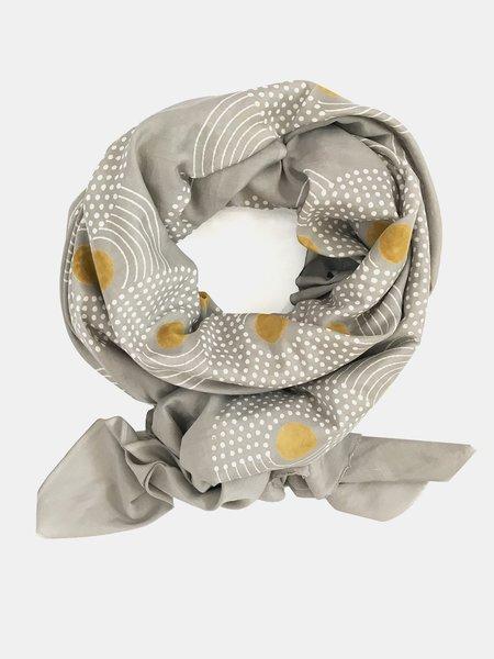block shop paloma scarf - grey