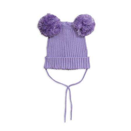 kids mini rodini ear hat - purple