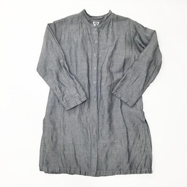 Johan Vintage Grey Linen Tunic