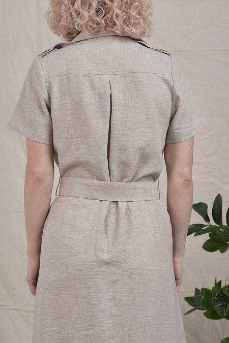 Inclán Studio Brooklyn Dress - Sand