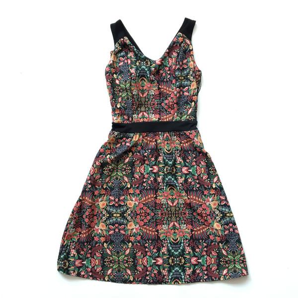 CHERRY BOBIN MONACO Floral Dress